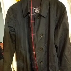 Authentic Vintage Burberry Trench/Car Coat